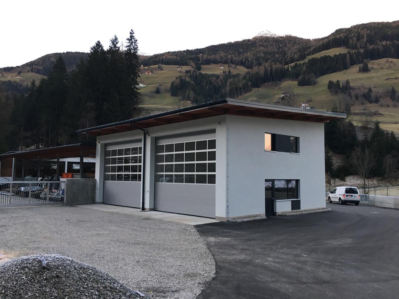 Errichtung des recycling und gemeindebauhofes m hlwald for Piani di costruzione di garage e deposito
